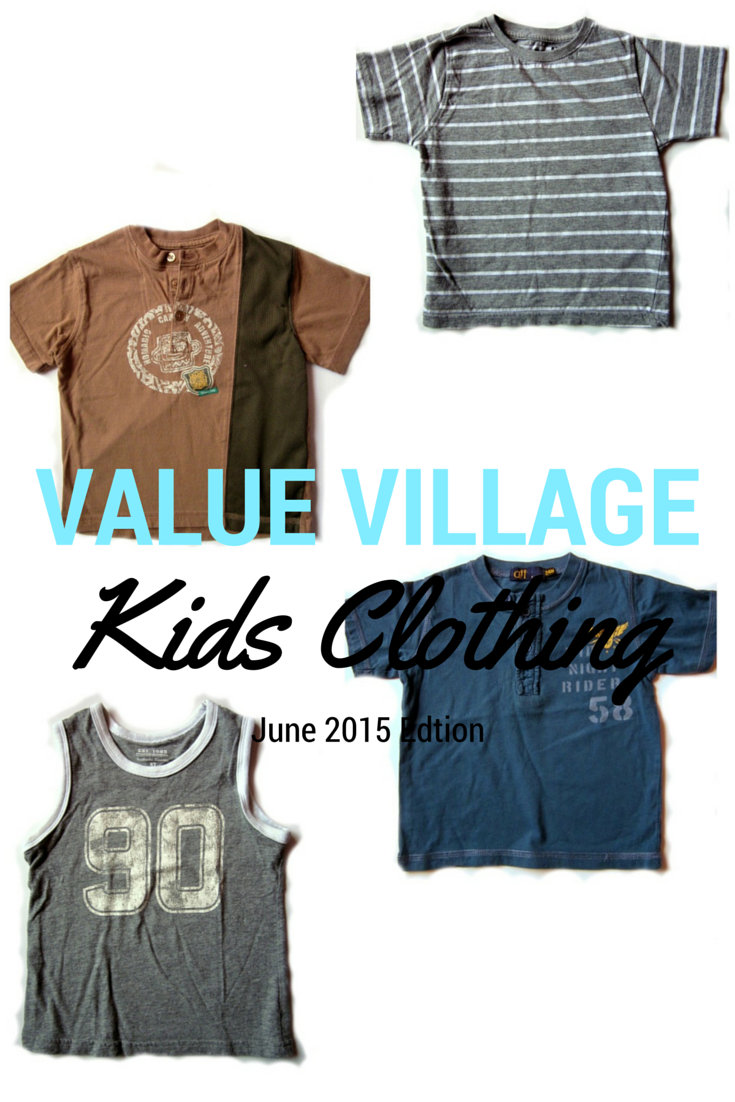value village kids clothing
