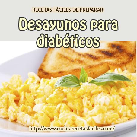 Recetas de desayunos para diabéticos - Cocina Recetas Fáciles