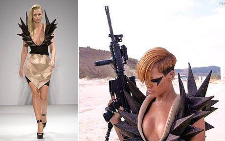 rihanna style 2010. Lady Gaga - the Art of Fashion