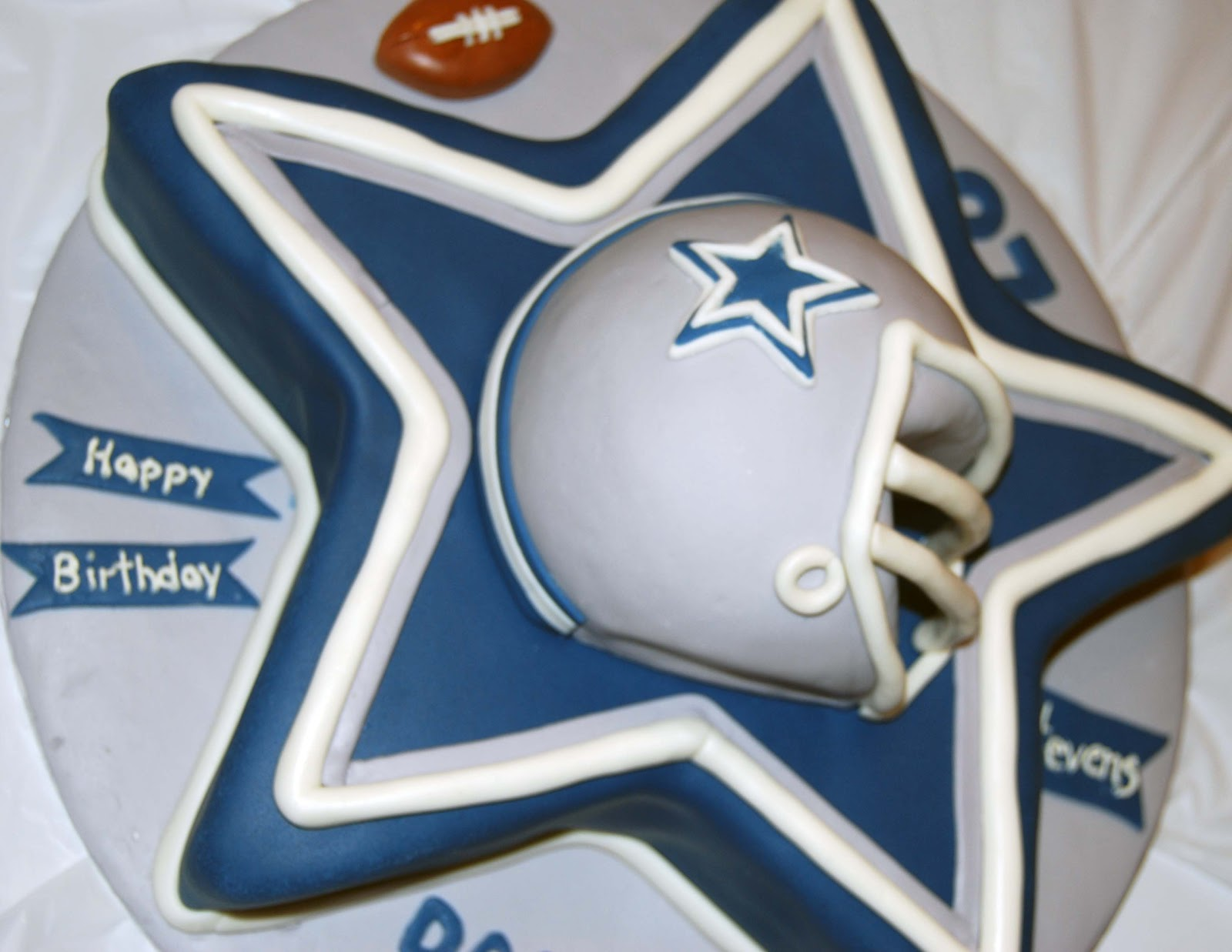 Leelees Cakeabilities Dallas Cowboys Cake