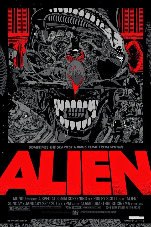 Alien Standard Edition Screen Print by Tyler Stout