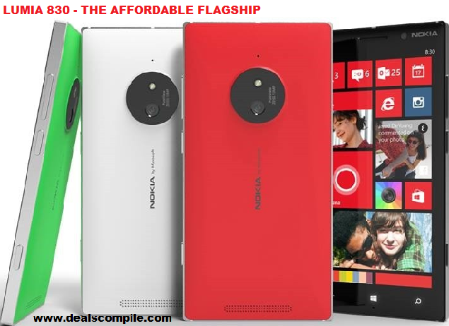 Nokia Lumia 830-Live it. Sync it. Share it - Huge Discount
