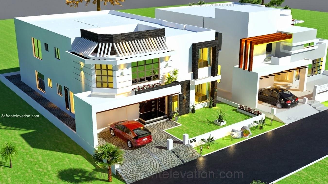 Model house plans in pakistan