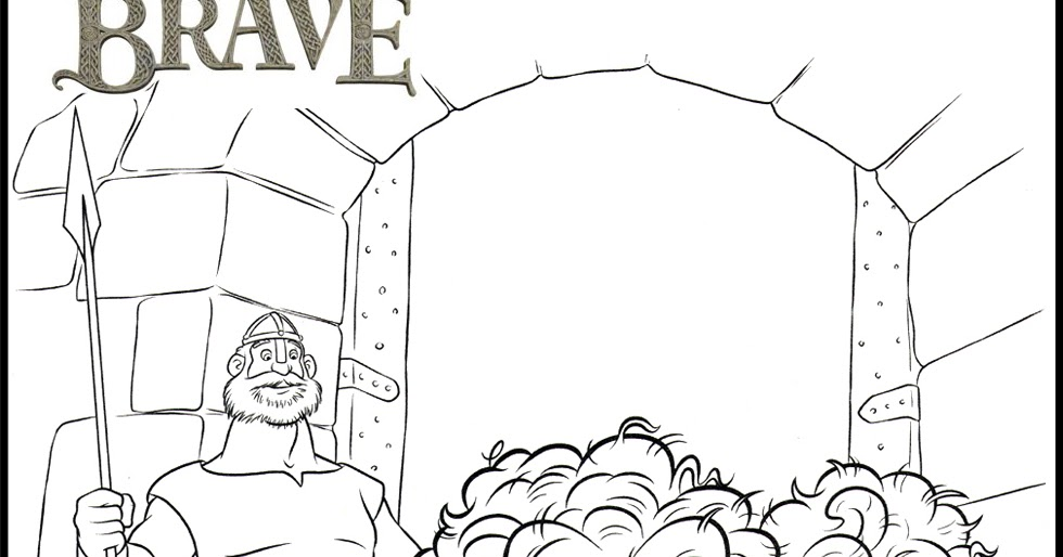 Disney brave coloring pages minister coloring for Brave coloring pages