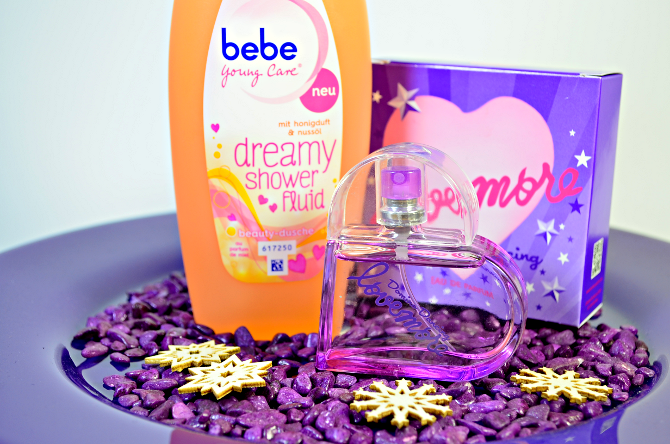 bebe Young Care dreamy shower fluid & lovemore EdT Domingo Dancing