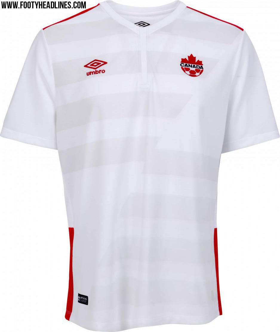 Canada 2015 home and away kits released footy headlines for Canadian kit homes