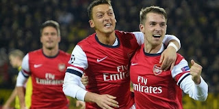 Video Gol Borussia Dortmund vs Arsenal 7 November 2013