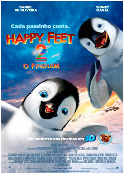 Happy Feet 2: O Pinguim DVD R CUSTOM Download Completo