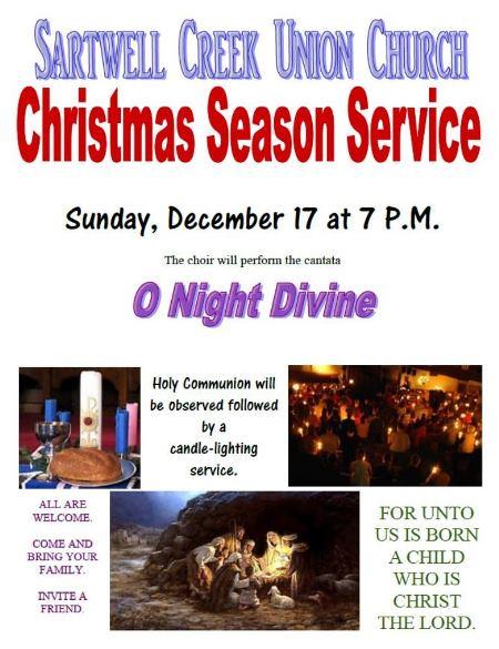 12-17 Christmas Season Service