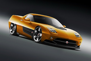 2011 Endora Cars SC-1 Concept inspired by the American and European sports cars
