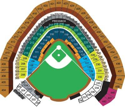 Miller Park Seating Chart