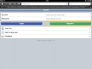 Free Trial VPN On iPad