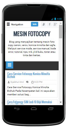 Instal Web ini di Androidmu, GRATIS
