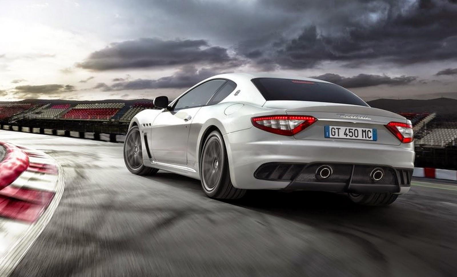 Carro - Maserati GranTurismo MC Stradale (2012)