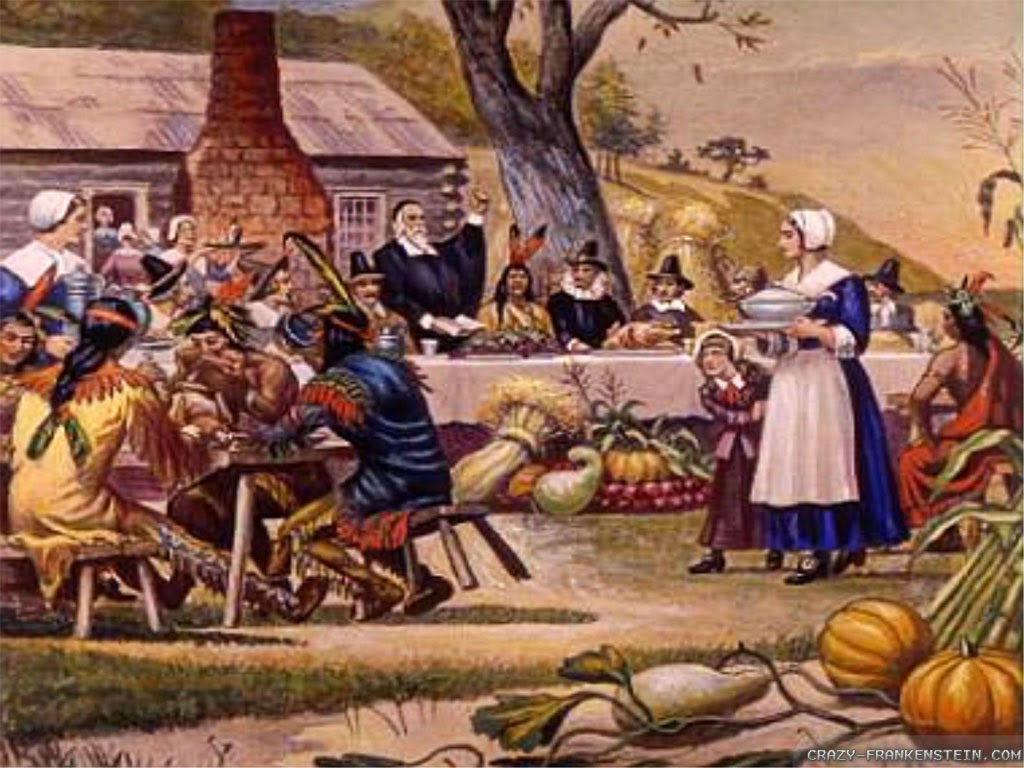 plymouth thanksgiving story Factual events are incorporated into an illustrated fiction holiday tale that presents the story of the very first thanksgiving at plymouth plantation in 1612.