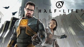 Screenshots of the Half-life 2 for Android tablet, phone.