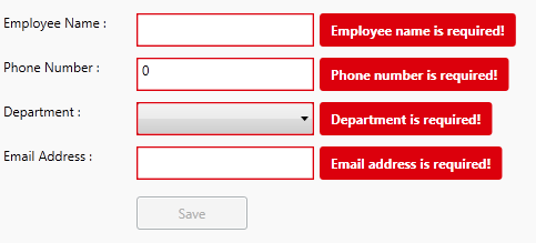 Validating user input wpf mvvm