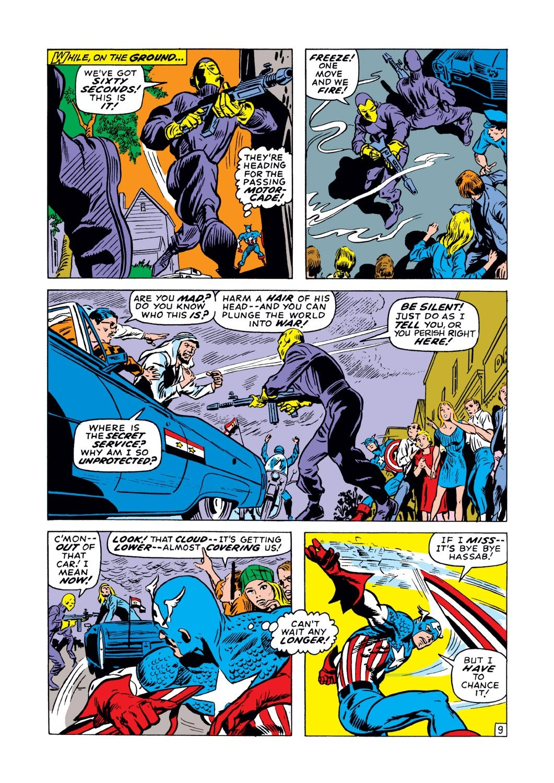 Captain America (1968) Issue #129 #43 - English 10
