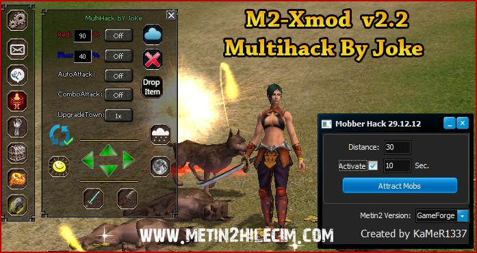 M2-Xmod v2.2 Multihack Exp Bot