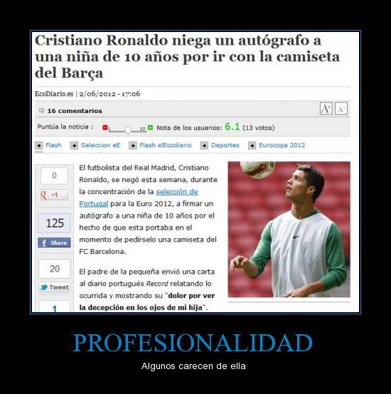 Cristiano Ronaldo tonto