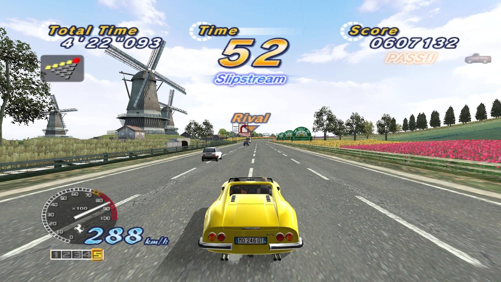 Outrun 2006 Coast 2 Coast juego completo