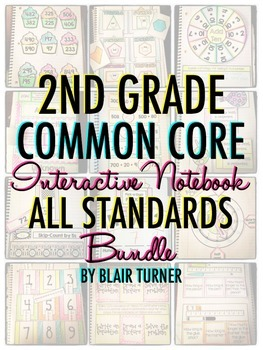 http://www.teacherspayteachers.com/Product/Interactive-Notebook-ALL-2ND-GRADE-STANDARDS-MEGA-BUNDLE-942855
