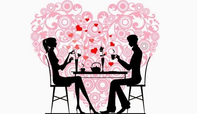 Вечеря за празника на влюбените