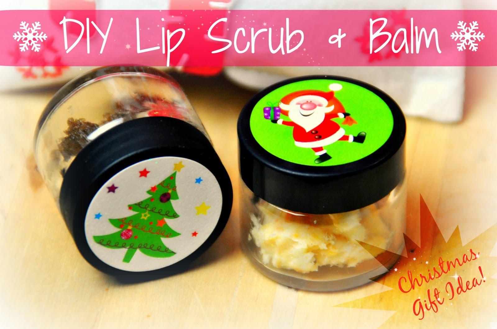 Diy Christmas Lip Scrub And Lip Balm Pure Power Panda