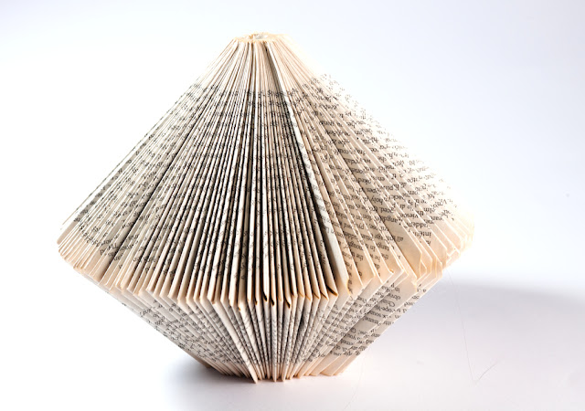 Folded Book Art shapes - Keri Muller (simpleintrigue.com)
