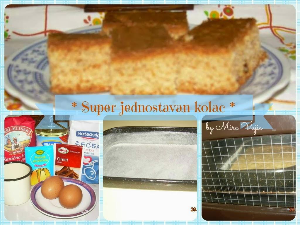 Recept: Super jednostavan kolač