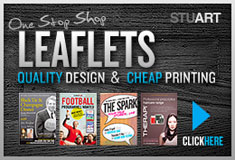 Cheap Leaflet Printing & Design: