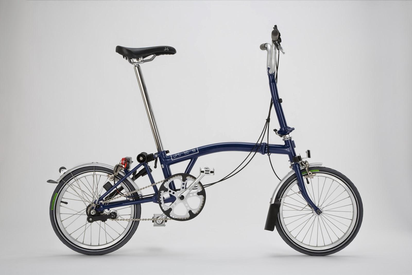 Brompton 6HL folding bike