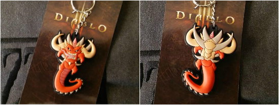 BlizzCon 2015 Diablo Key Chain
