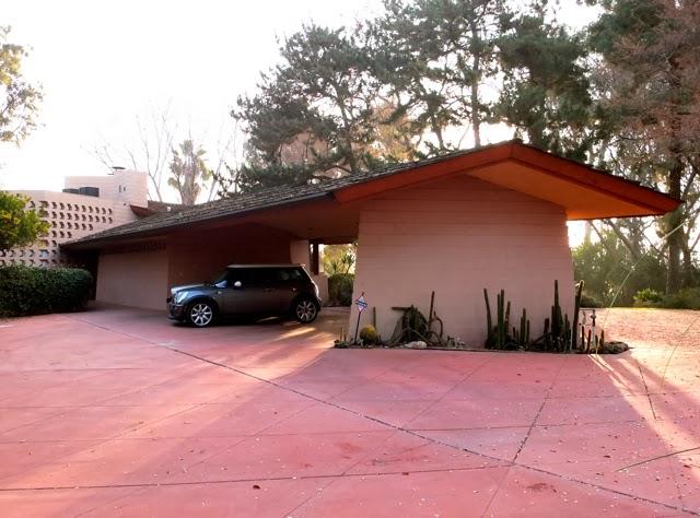 Frank Lloyd Wright Modern Carport : Frank lloyd wright ablin house bakersfield