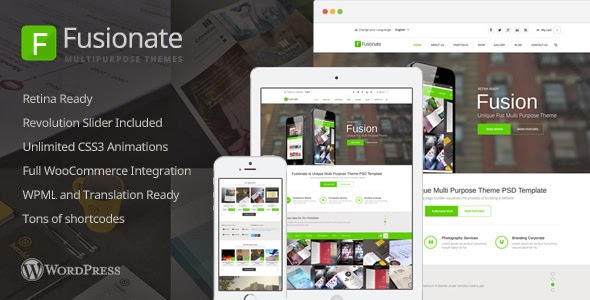 download Multipurpose WordPress Template