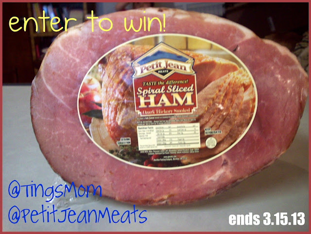 Ting's Mom: Petit Jean Meats Spiral Ham GIVEAWAY!