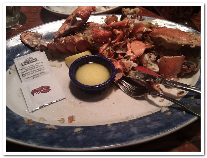 One-stop: Lobster meal @ Red Lobster