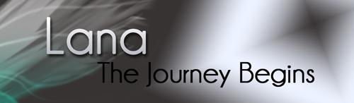 Example of dark header, grey header for blog, lana