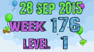 Angry Birds Friends Tournament level 1 Week 176