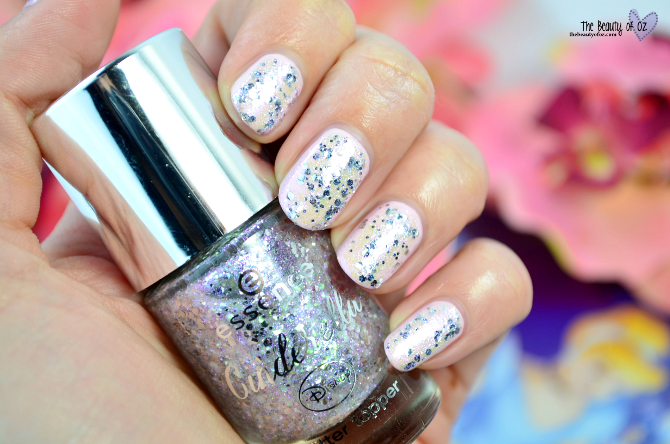 Review essence Cinderella Top Coat THE GLASS SLIPPER