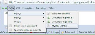 Cara Deface Web Dengan SQL Manual