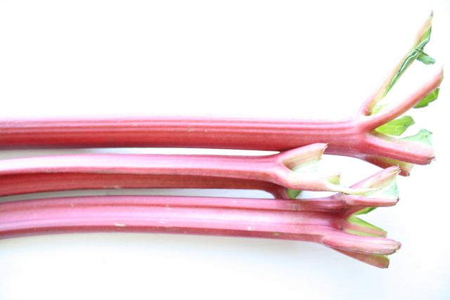 how to cook rhubarb without sugar