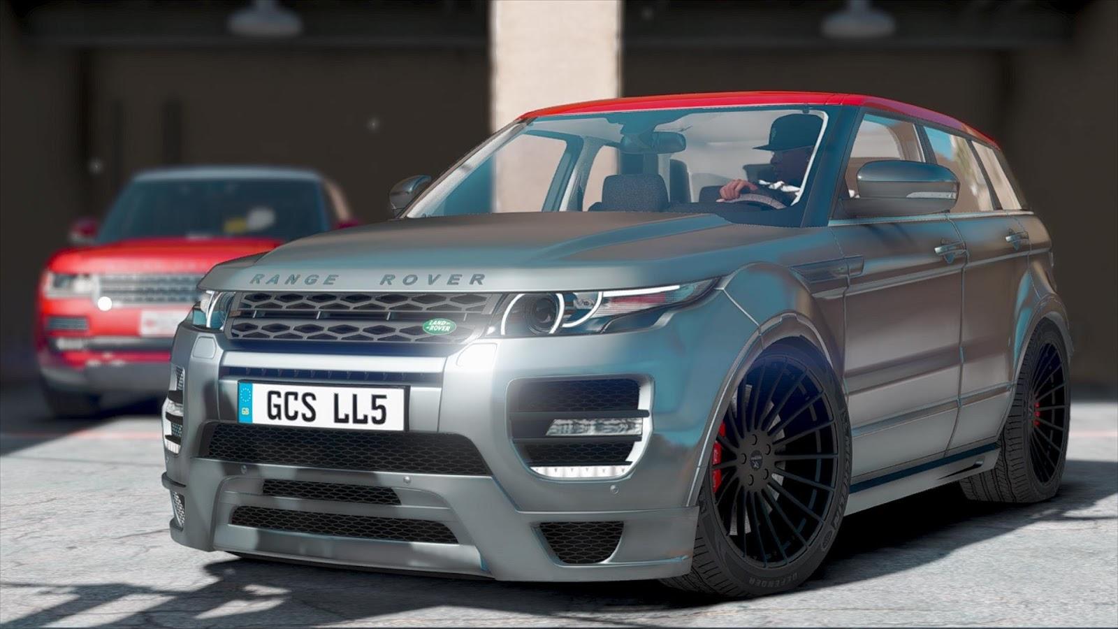 Car Mechanic Simulator 2018 Mods Mods For Games >> Range Rover Evoque Tuning by HAMANN v1.0   GTA 5 Mod