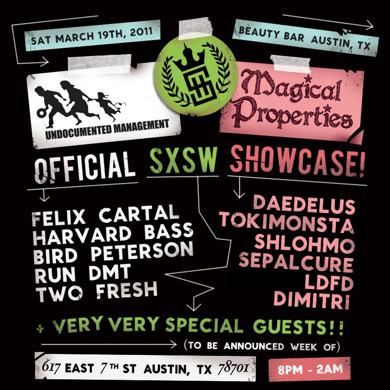 SXSW 2011 Web flyer final Best of SXSW 2011: The Places and Parties To Go To