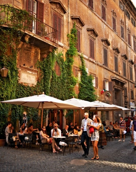 Place - Caff della Pace, Rome