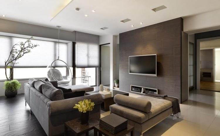 Salas Decoracion Elegantes ~ Salas de estilo moderno y elegante  Ideas de salas con estilo
