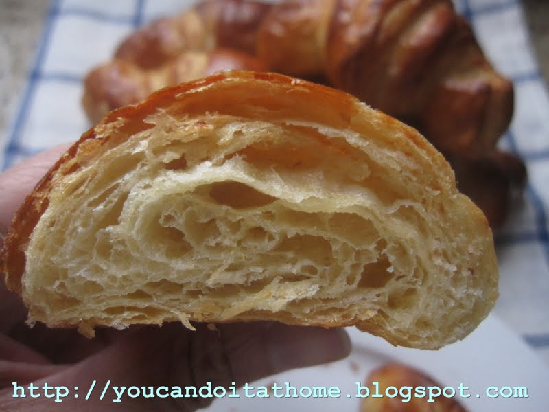 how to make healthy croissants