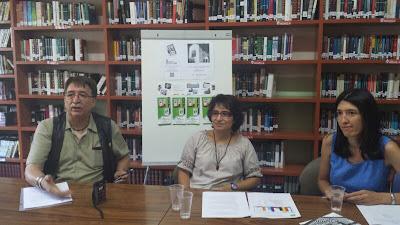 Profesores y direccion del centro EPA imagen de archivo