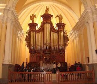 Órgano Catedral de Arequipa