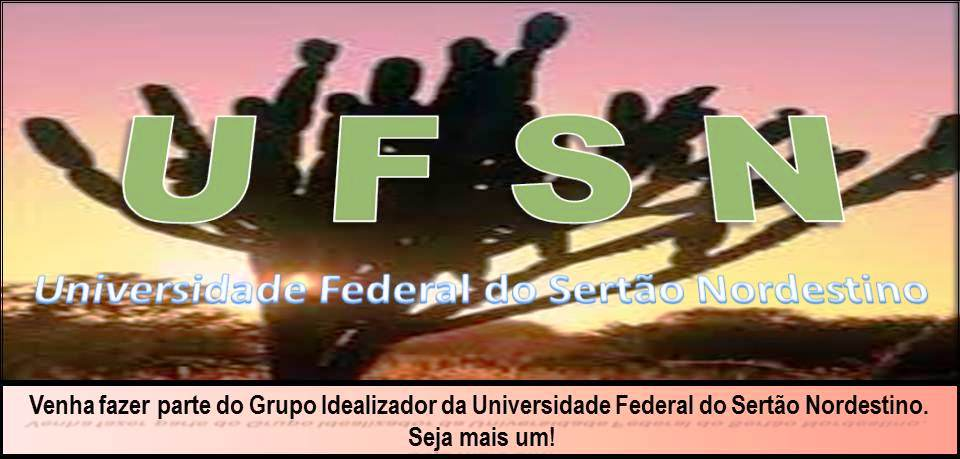 Universidade Federal do Sertão Nordestino